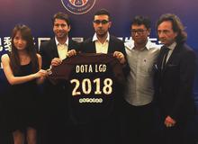 DOTA 2: PSG hợp tác với LGD Gaming - Neymar sẽ xuất hiện?