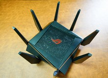 Asus ROG Rapture GT-AC5300: Router 'Cua 8 càng' siêu khủng dành riêng cho game thủ