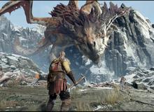 Cận cảnh đại chiến giết rồng siêu hoành tráng trong God of War