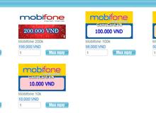 Hiện đã không thể sử dụng thẻ điện thoại để nạp tiền vào game online tại Việt Nam