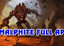 """LMHT: Hướng dẫn chơi Malphite đường giữa theo phong cách """"húc liên tục"""", cực mạnh ở phiên bản hiện tại"""
