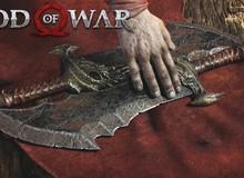 Chiêm ngưỡng sức mạnh hủy diệt của Blade of Chaos khi tái xuất trong God of War mới