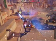 Xuất hiện tựa game cho phép game thủ mặc giáp robot bắn nhau toé lửa: Blazing Core