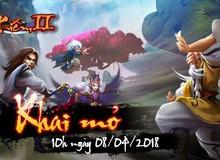 Game mới Mộng Kiếm 2 chính thức mở cửa đón game thủ vào 10h ngày 08/04