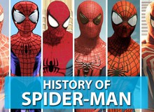 Người Nhện Spider-Man đã thay đổi ra sao qua các màn chơi game trong suốt 20 năm qua