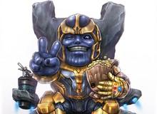 """Tải ngay bộ ảnh nền Avengers """"cute phô mai que"""" cho smartphone"""