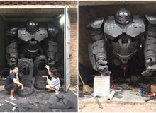 Mê sáng tạo, chàng trai Việt cho ra đời bộ giáp Hulkbuster siêu hoành tráng
