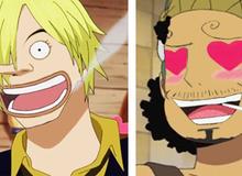 Cười rớt nước mắt khi nhìn thấy các nhân vật trong One Piece đổi khuôn mặt cho nhau