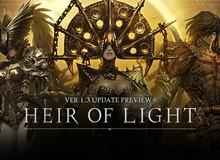 Heir of Light tung cập nhât mới xuất hiện hầm ngục Bang Hội cùng nhân vật chất lừ