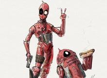 """Ngất ngây với bộ ảnh Deadpool """"sâu kiu"""" hết mức của 1 nghệ sĩ trẻ tài năng"""