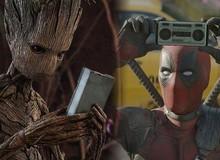 """Chúc mừng thành công của Deadpool 2, bé Groot ăn mừng bằng việc cosplay lại chàng """"bựa"""""""
