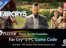 Game hot đầu năm Far Cry 5 bất ngờ được tặng miễn phí khi mua SSD Plextor