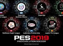 Không biết nên khóc hay nên cười, đây là 7 giải đấu mới mà PES 2019 vừa có được bản quyền