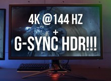 Siêu phẩm màn hình 4K 144HZ HDR của Asus sẽ ra mắt ngay tháng 6 tới