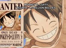 Top 9 mức truy nã cao nhất trong One Piece sau sự kiện Đảo Bánh