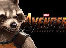 """Rocket Raccoon """"tử nạn"""" bên vệ đường sau khi nhóm Vệ Binh Giải Ngân Hà bị tan biến trong Avengers: Infinity War"""