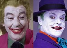 Cesar Romeo và Jack Nicholson, những diễn viên đầu tiên đặt nền móng cho nhân vật Joker trên màn ảnh rộng