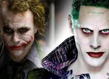 """Heath Ledger và Jared Leto, huyền thoại cùng """"người kế vị"""" sẽ đưa Joker lên một tầm cao mới"""