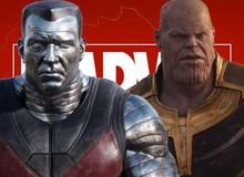 Thanos mới chính là kẻ phản diện mà Colossus trong Deadpool 2 muốn đánh bại