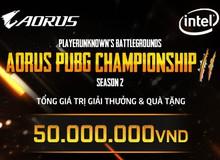 AORUS PUBG CHAMPIONSHIP Mùa 2 – sự trở lại của giải đấu hấp dẫn dành cho cộng động PUBG Việt Nam