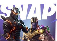 Sau khi búng tay tiêu diệt một nửa vũ trụ, ông trùm Thanos lại mang Găng Tay Vô Cực vào Fortnite