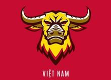 Đội Liên Quân Mobile quốc gia Việt Nam dự AWC lựa chọn logo trâu vàng
