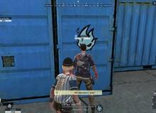 """Game thủ Rules of Survival trở thành """"họa sĩ"""" nhờ tính năng sơn xịt cực dị"""