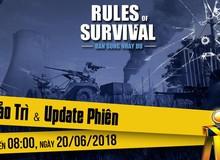 ROS mobile: Update mới trải nghiệm bắn nghiêng người và thay đạn ngày 20/6
