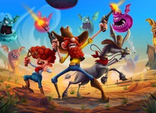 Chơi ngay Ginger Rangers - Game phiêu lưu miền viễn Tây vừa gây nghiện lại còn vui nhộn bất ngờ