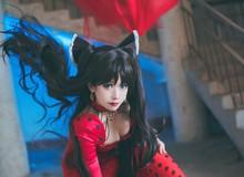 Cosplay thiếu nữ Rin Tohsaka tuyệt đẹp trong Fate/Grand Order