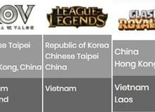Việt Nam có đại diện tranh tài ở cả 6 bộ môn eSports tại Asian Games 2018