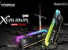 RAM T-FORCE XCALIBUR: Bộ RAM thánh kiếm đem đến sức mạnh kinh hoàng cho game thủ