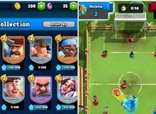 """Soccer Royale: Phiên bản """"nhái"""" của Clash Royale nhưng mang đề tài bóng đá"""