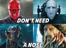 4 điểm chung về ngoại hình của những kẻ ác nhân trên phim: Đầu tiên là không có mũi!