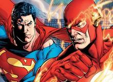 Superman và Flash: Ai nhanh hơn? Cuối cùng DC Comics cũng đã trả lời