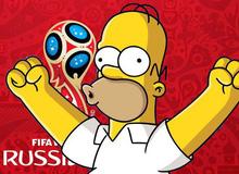Đừng đùa! Có khi The Simpson lại tiếp tục dự đoán trúng về World Cup 2018 đấy