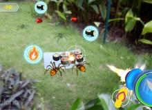 Lộ diện game AR đầu tiên do người Việt Nam sản xuất: AR Insect Battle