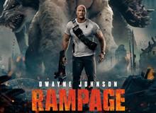 Mới nửa đầu 2018, tài tử Dwayne Johnson đã sở hữu ba bộ phim bom tấn này rồi đây