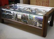 """Đừng vứt đi những linh kiện điện tử cũ, chúng hoàn toàn có thể biến thành đồ nội thất """"cực chất"""""""