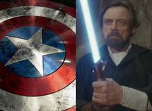Đố bạn biết: Liệu thanh kiếm ánh sáng Light Saber có thể chém vỡ khiên của Captain American không?