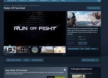 Rules Of Survival đã xuất hiện trở lại với hệ thống Steam