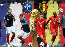 Nhận định Bán kết Pháp vs Bỉ: Đêm chung kết 'sớm' của World Cup 2018