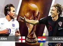 Nhận định bán kết World Cup 2018 Anh vs Croatia: Lịch sử sẽ ghi tên ai?