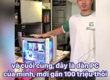 Quần áo mấy chục ngàn, nhưng mà máy tính thì nhất định phải trăm triệu!
