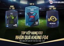 Garena tặng quà khủng FIFA Online 4 cho… game thủ FO3
