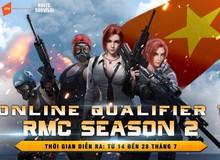 Chiến binh hội tụ tranh tài ROS Mobile Qualifier 1 từ 19h ngày 14/7