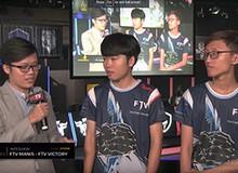 Phỏng vấn sau trận đấu: Manis bộc lộ chakra và giành 2 ván thắng cho FTV