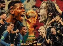 Chung kết World Cup 2018 Pháp vs Croatia: Liệu có xuất hiện quân vương