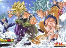 Ngắm nghía thiết kế mới của 2 cha con Broly và Paragus trong movie Dragon Ball Super