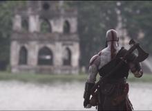 Xả hơi trước đại chiến với Thor, Kratos quyết định du lịch Việt Nam